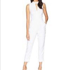 Cute white jumpsuit